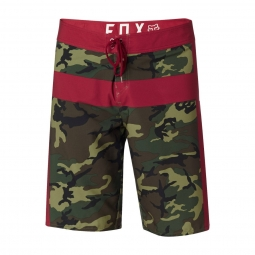 Boardshort fox camouflage moth green camo 34