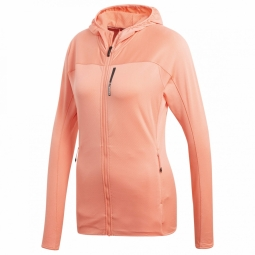 Veste adidas tracerocker hooded fl chalk coral 36