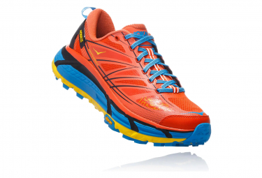 Hoka Trail Shoes Mafate Speed 2 Red Blue