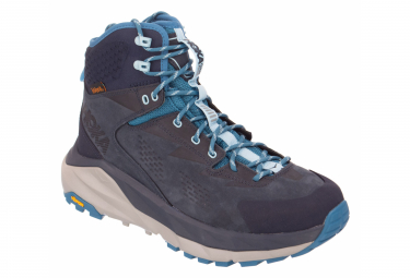 Hoka Outdoor Shoes Sky Kaha Blue Grey Women