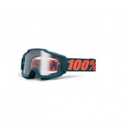 Masque Vtt 100% Accuri Gunmetal - Ecran Clair