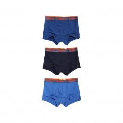 Pack 3 boxers superdry orange label triple pack l