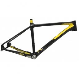Cadre vtt focus raven 27 5 noir jaune l 180 190 cm
