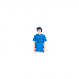 T shirt picture organic mini dady blue