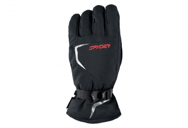 Gants De Ski Spyder Traverse Gore-tex® Black / Red