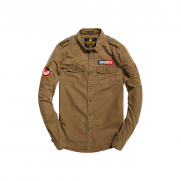 Chemise superdry ultra light army corps trench army