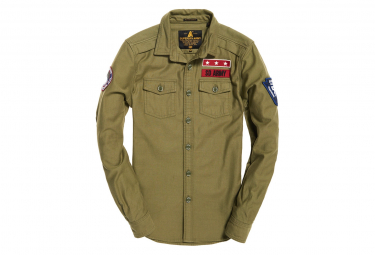 Chemise Superdry Army Corps Sapper Green