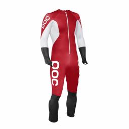 Combinaison Poc Skin Gs Bohrium Red / Hydrogen White