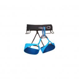 Harnais black diamond solution harness men black ultra blue