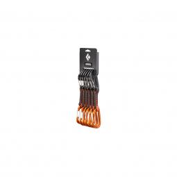Pack 6 Dégaines Black Diamond Freewire Qd 12cm Orange