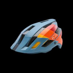 Casque vtt fox flux drafter helmet slate blue
