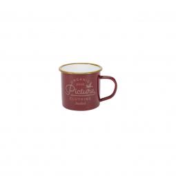 Mug Picture Organic Sherman Red