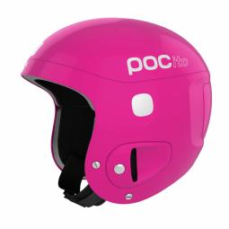 Casque de ski poc pocito skull fluo pink non communique