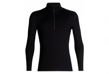 Sous-vêtement Icebreaker M 260 Tech Ls Half Zip Black