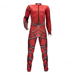 Combinaison racing spyder boy s nine ninety red black