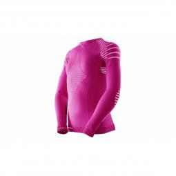 Sous vetement x bionic shirt ls invent shirt pink 6 7 ans