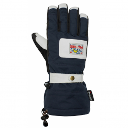 Gants De Ski Mackay Dark Blue Picture Organic