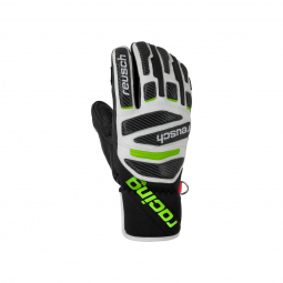 Gants De Ski Racing Reusch Race Tec 18 Pro Lobster Bk/gr