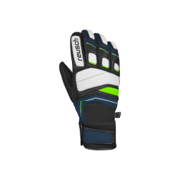 Gants De Ski Racing Reusch Profi Sl Blue / Green