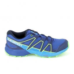 Chaussure de running salomon speedcross jr bleu 36