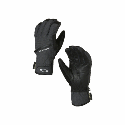 Gants de ski oakley red lion gore tex jet black