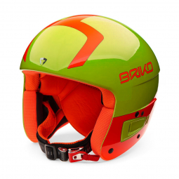 Casque De Ski Briko Vulcano Fis 6.8 Jr Yellow Orange