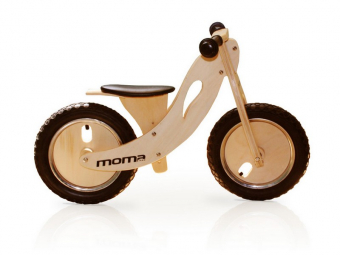 Draisienne moma bikes woody sport 12 bois naturel