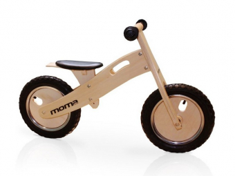 Draisienne moma bikes woody classic 12 bois naturel