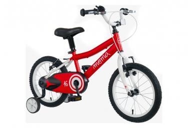 Vélo Enfant Moma Bikes 16'' 4-6 ans Rouge