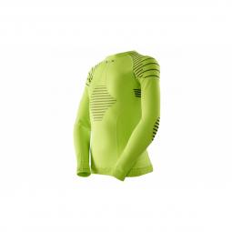 Sous vetement x bionic junior shirt ls invent green lime 6 7 ans