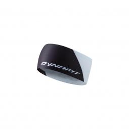 Image of Bandeau dynafit performance 2 dry headband black white adulte