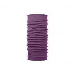 Tour De Cou Buff Merino Wool Purple Melange