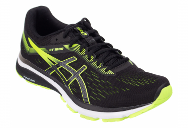 Asics Shoes Run GT 1000 7 Black Yellow