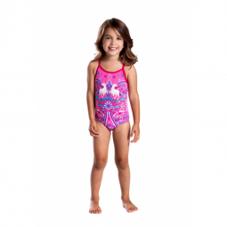 Maillot funkita petite fille 1 piece unicorn candy toddler fille 3 ans