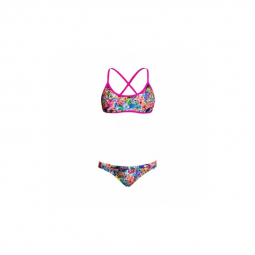 Funkita fille blossom paradise criss cross two pieces 8 9 ans
