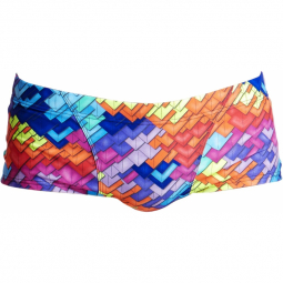 Funky trunks layer cake digital print boxer natation homme xs