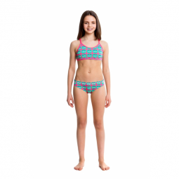 Maillot fille 2 pieces funkita parliament party tankini 2 pieces 14 15 ans