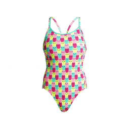 Funkita minty mittens diamond back off the wall collection maillot femme natation 40