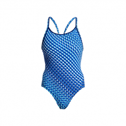 Funkita vapour scale diamond back off the wall collection maillot femme natation 42