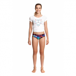 Sous vetement Fille FUNKITA Splatterfied girls underwear brief