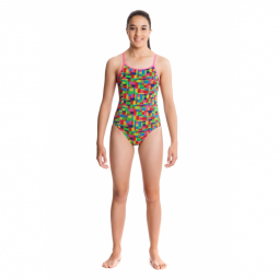 Funkita fille 1 piece let s go diamond back 8 9 ans