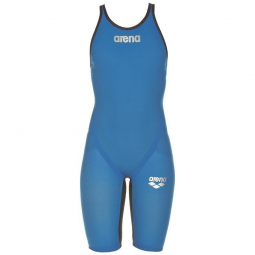Arena carbon flex vx open back imperial blue combinaison natation femme dos ouvert 40