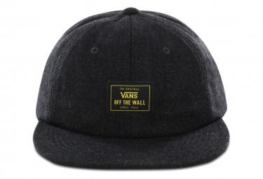 Vans Buckner gorra de asfalto vintage / gris oscuro