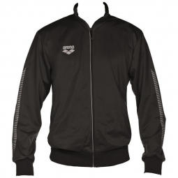 ARENA Knitted Poly Jacket Team Line - Black