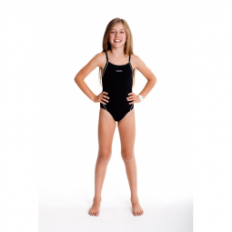 Funkita fille 1 piece still black diamond back 8 9 ans