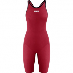 Combinaison femme arena carbon pro mark 2 closed bright red