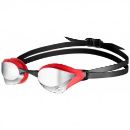 Arena cobra core mirror silver red black lunettes natation taille unique
