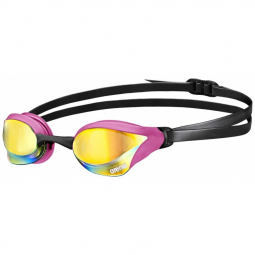 Cobra core mirror copper pink black lunettes natation taille unique