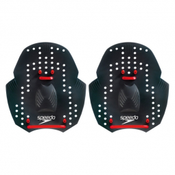 Plaquettes speedo power paddle black red taille unique