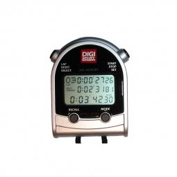 Chronometre DIGISPORT DT300 / 3 lignes / 300 mémoires / moniteur de fréquence